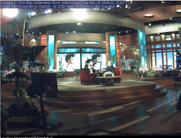 Ellen Show taping May 18, 2010