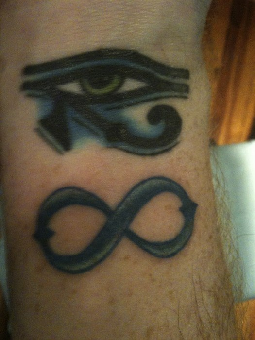 alpha and omega tattoo. Alpha to omega..eternity,