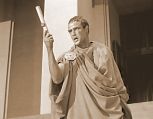 """julius caesar antony s speech Mark antony is given leave to speak at julius caesar's funeral, provided his  speech """"shall advantage more than do [the assassins] wrong."""