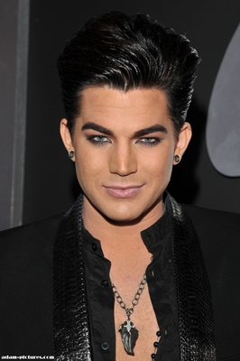 Adam Lambert-Gilding the Lily With a Goatee? |