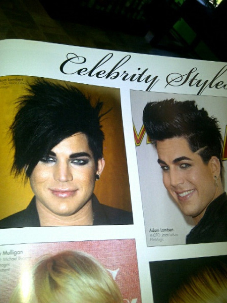 Adam lambert week august 7 13 2011 on the meaning of for Adam beauty salon