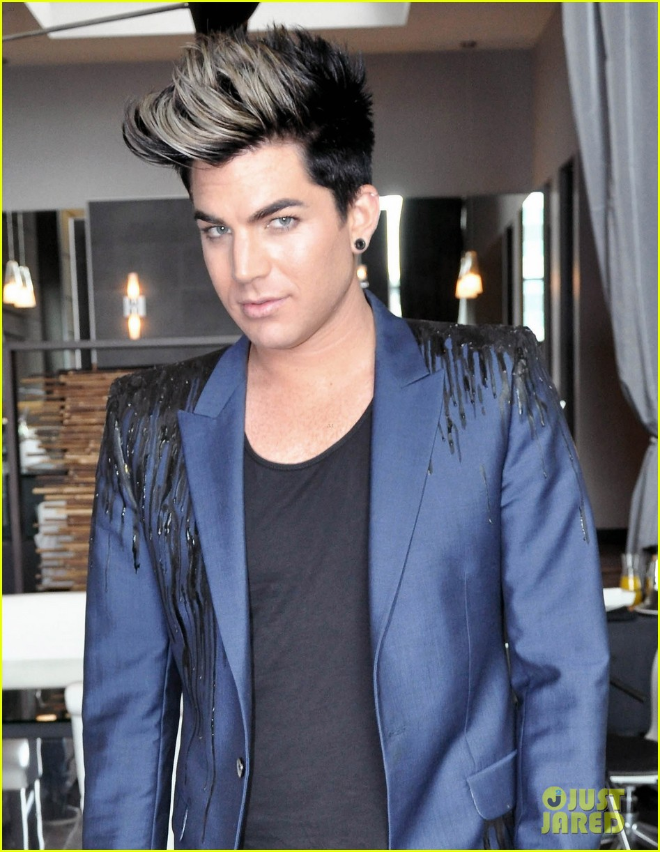 Adam lambert blonde hair pictures
