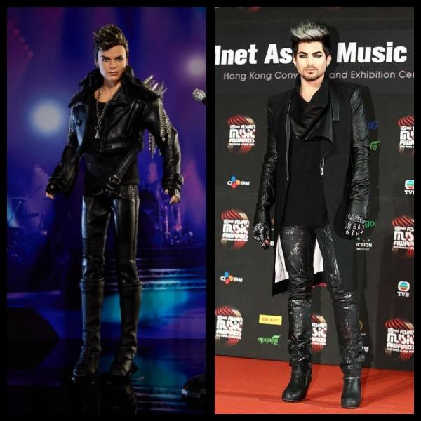 FROM tuke18 ON TWITTER: Can you tell which one is the Barbie??? @adamlambert