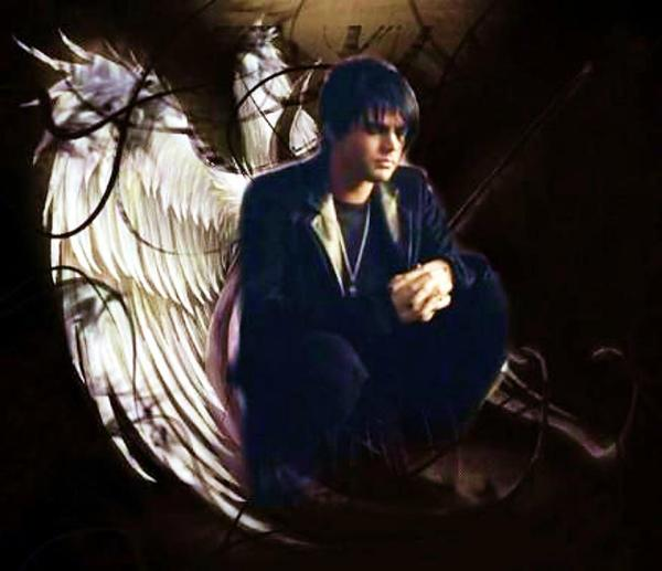 Via @glam_alidol: fan art by baiyi :Angel at the end of the world @adamlambert