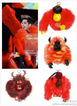 ADAM LAMBERT Dragon Attack Pic Montage via @glam_alidol: Kipling 's official weibo