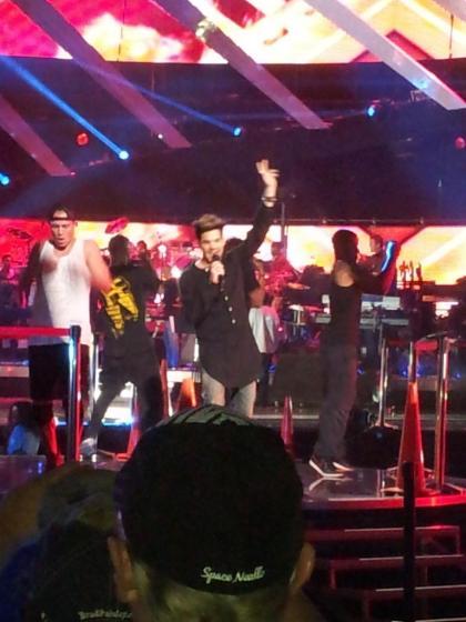 vh1savethemusic VH1 Save The Music@adamlambert is killing it! #VH1Divas