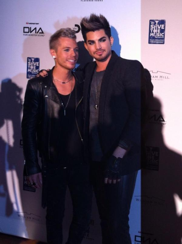 From hwngrrl Noelani #vh1divas after party!! @adamlambert