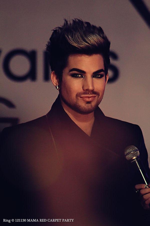 Amazing pro pic of Adam on the MAMA via Glam_Alidol on Twitter