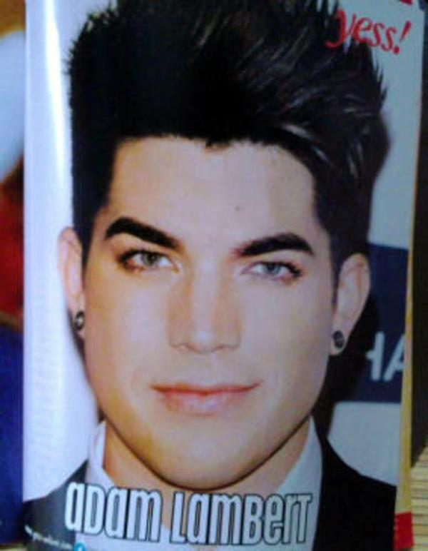 @INDOGLAM:Adam Lambert pin up in Indonesian magaZine (Aneka Yess) @anekayessmagz no. 26 - December edition http://twitpic.com/bqnrky
