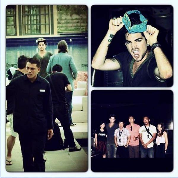 @PHOENIX_FM_BALI: Adam Lambert #bali #radio #instagram http://instagr.am/p/T4iTxIKrzL/