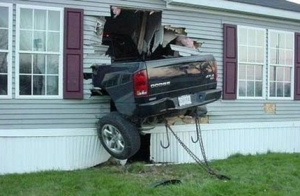 What can happen if you listen to Adam Lambert while driving...