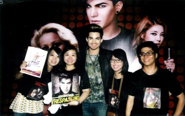 From Adam Lambert Fan Club Vietnam