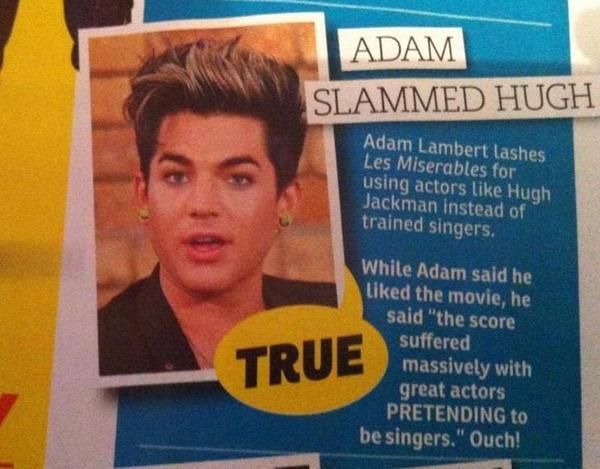 Adam Lambert in Australia's New Weekly Magazine - Via @Gretski06