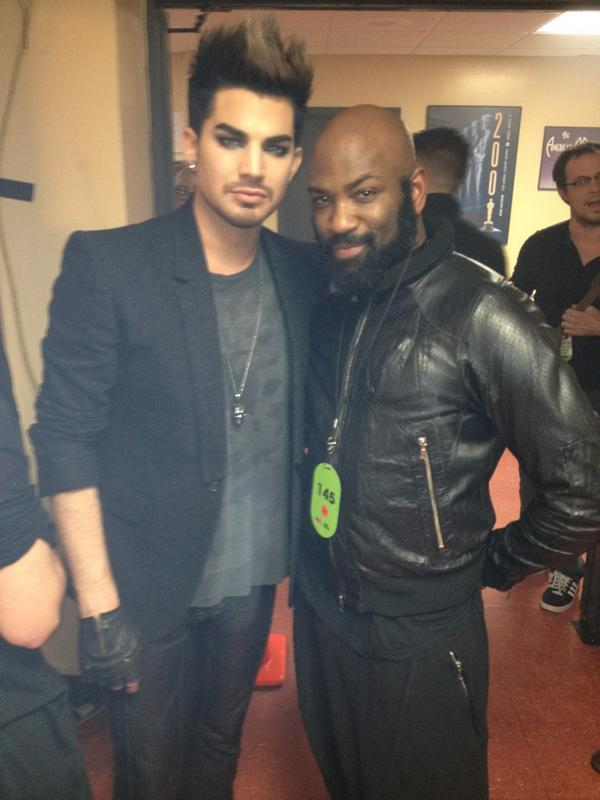 From @TovarisWHad a blast creating on VH1 Divas with Dynamic Duo RJ and Nick. With host Adam Lambert.