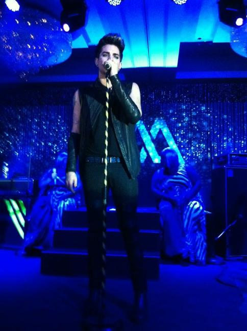 Adam Lambert Live in Bali | source: @katzolicious