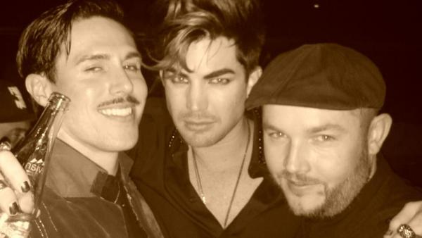 Via JoshPeace DJ Josh Peace The paradise people..... @sam_sparro @AdamLambert @JoshPeace =)