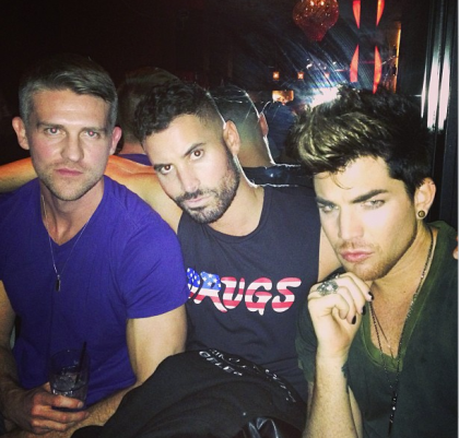 xandertarigoBoys night out @realadamlambert #Rasputin