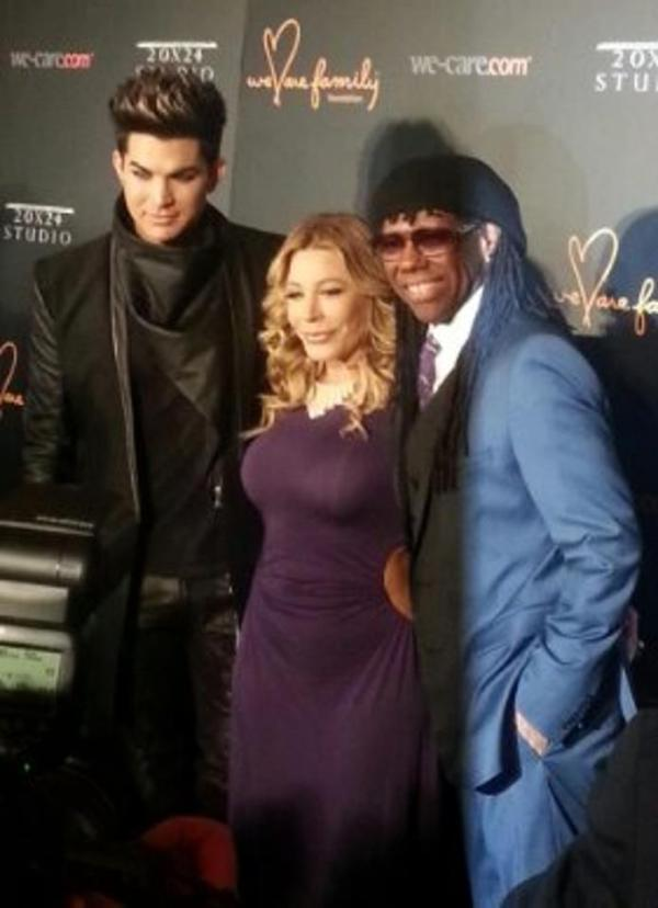@JohnSimonDaily: Live: Adam Lambert, Taylor Dayne, and Nile Rodgers We Are Family Foundation Benefit w ADAM LAMBERT as Honoree & Performer http://bit.ly/W47gbp #JohnSimonDaily