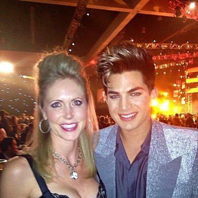 @BrandonMDawson: Tammy with Adam Lambert! http://pic.twitter.com/f4ZHoMLE
