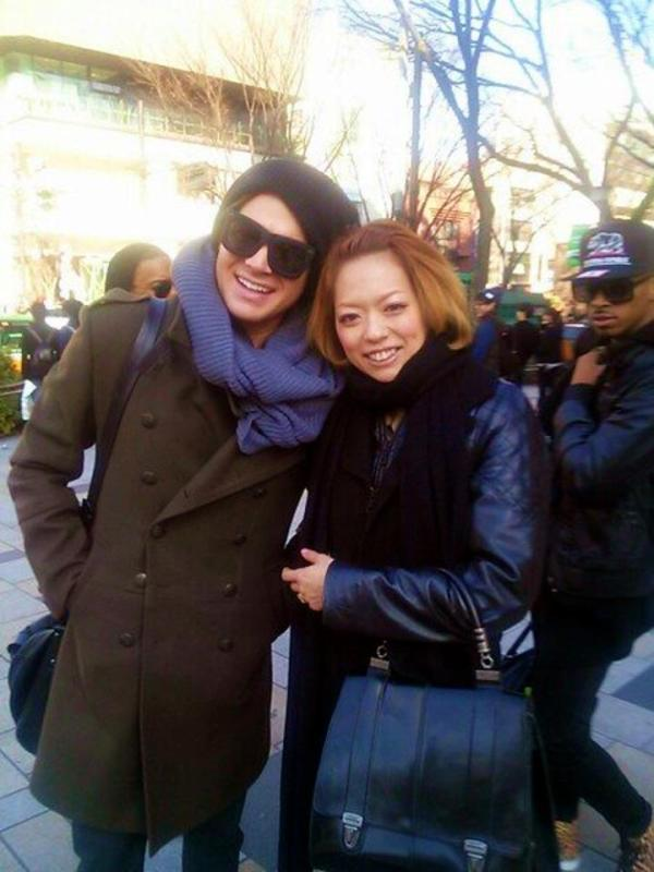 @c723natsumi: I'm so glad to meet @adamlambert in Harajuku!