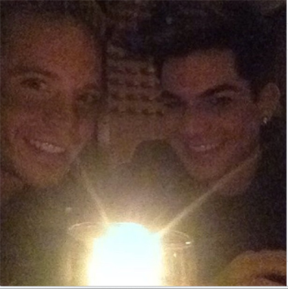 realadamlambert: Valentine Homies. Love to You ALL!