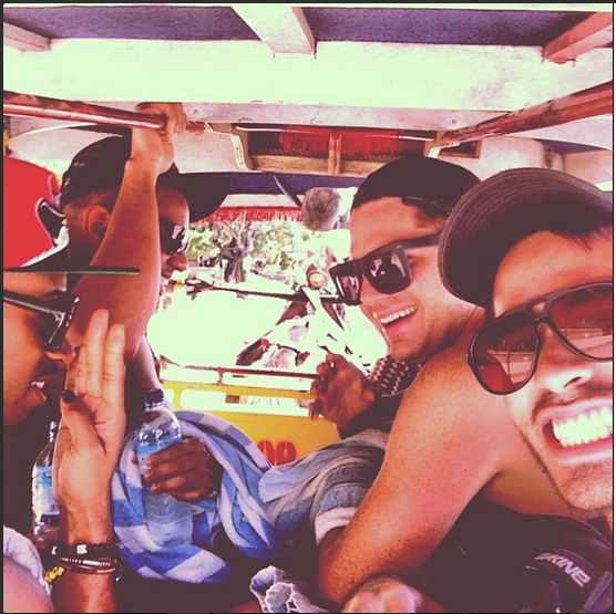 realadamlambert - Horse drawn taxi on Gili T Island