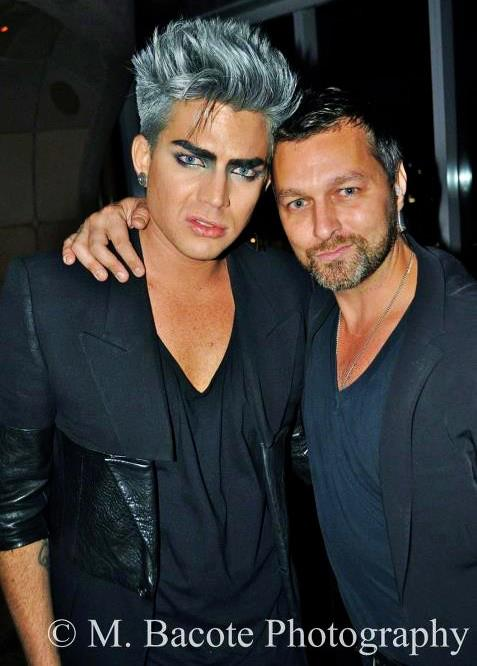 @OblaKickinIn: Adam & my nephew Sean. Taken last time Adam was in nyc for fashion show (Probably Sept 1012) http://twitpic.com/c7y5vq