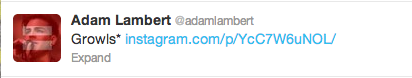 AdamTweet-Growls
