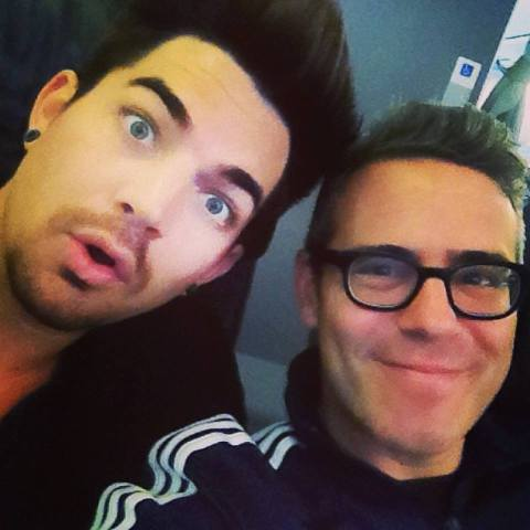 @BravoAndy: Nothing wrong w/ spending the day on a plane sitting next to @AdamLambert! We bonded in the air. And napped.