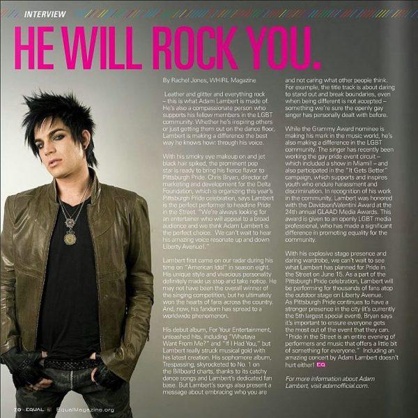 Inside Equal magazine