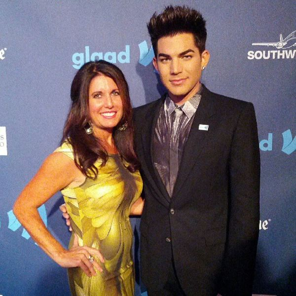 @glaad: #glaadawards Mother's Day edition: @adamlambert and mom at 24th annual GLAAD Media Awards with ADAM LAMBERT in San Fransisco at the Hilton San Francisco, Union Square. Adam will receive the Davidson/Valentini Award.