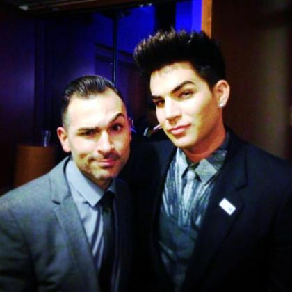 @paulkatami: @adamlambert awesome to see you! Thanks for being ridiculously awesome