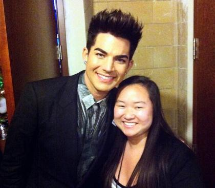 @kerrrylee: #AdamLambert has perfect hair
