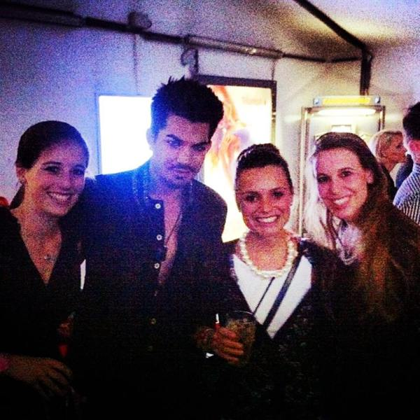 @thenikkinik on IG: #working #at #the #lifeball #vienna #adamlambert #LifeBall2013. http://instagram.com/p/ZtnjVZiZPU/