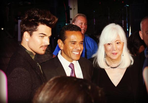 Honorees included Adam Lambert, Mia Yamamoto and Rodney Scott.
