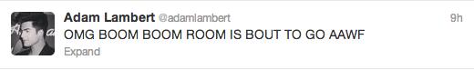 AdamTweet-Boom