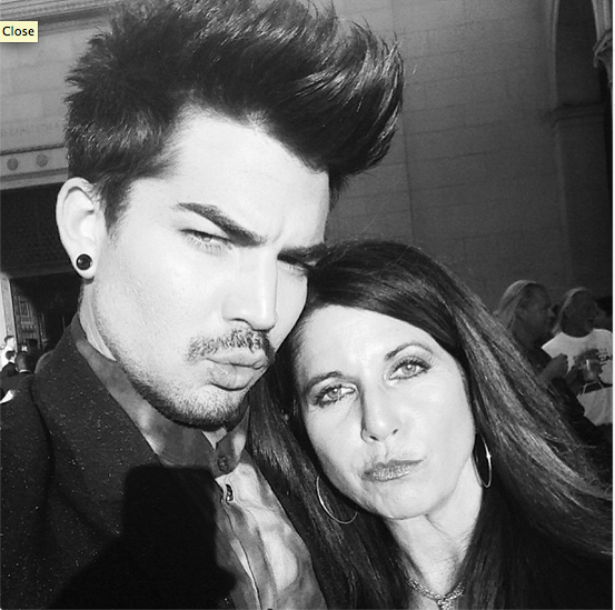 @adamlambert 31 May And my Ma! http://instagram.com/p/Z93JGmuNKd/