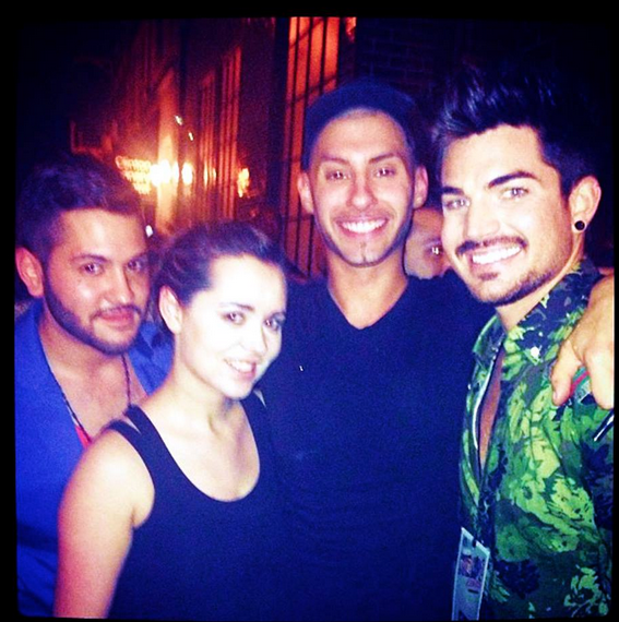 mbgarcia9 on Instagram: @eros1025 @adamlambert @frankie_j718 ending the night with some great company #bwaybares2013 #broadwaybares2013 #broadway #adamlambert @bcefa  http://instagram.com/p/a7tfS2qLq_/