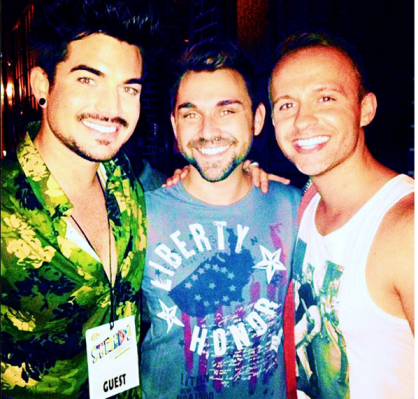 martythomaslovesyou on Instagram: @jameyrayisright @adamlambert #bares #broadwaybares2013 #broadway http://instagram.com/p/a7vowiCDH1/