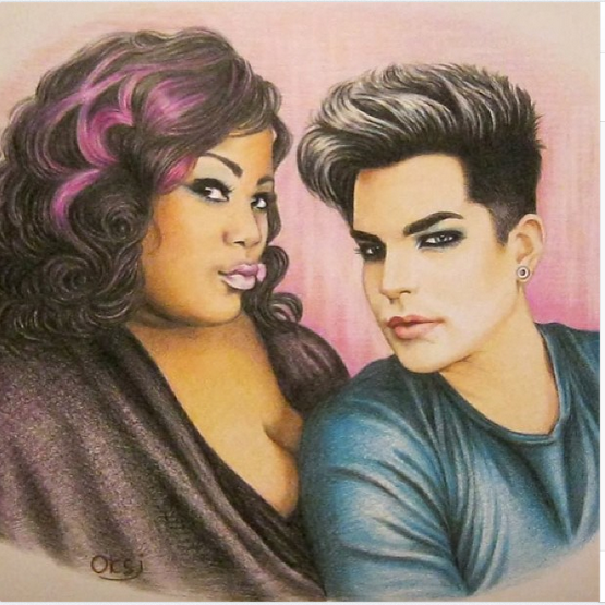 keisha_renee: I love Fan Art! Me and the fierce