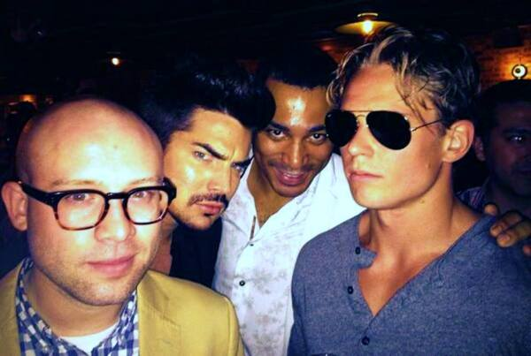 @BillyMagnussen: No good. @adamlambert @thecharlbrown June 18 2013. http://pic.twitter.com/tjkud3nhXA