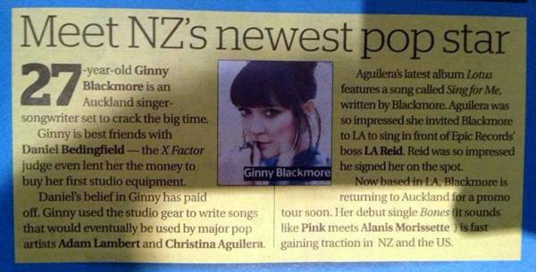 @coconutghost007: ADAM LAMBERT mention in today's New Zealand Herald Newspaper. http://pic.twitter.com/zZFZzpPjKx