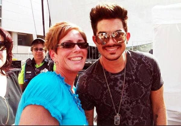 @GlamFanNation: Lovely Ang with Adam!!!!! Eeeek- so wish I could be there!!!! http://pic.twitter.com/TeJSy3EYS1