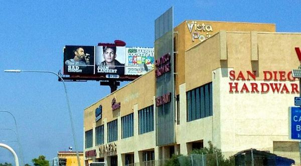 @tchrsd: ADAM LAMBERT'S Billboard in San Diego. Coming soon!!