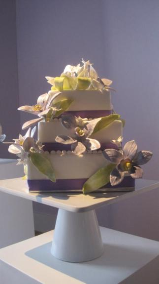 Orchids from Sweet Occasion Cakes