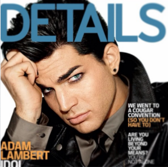@adamlambert 30 May #throwback Detail cover. I loved this photoshoot. Super classic Hollywood iconography. http://instagram.com/p/Z9CyE_ONG2/