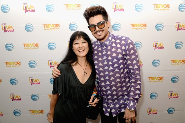 Adam Lambert Live Proud Campaign Finale Event With AT&T And The Trevor Project