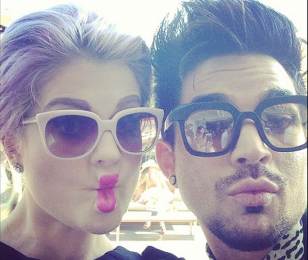 kelly-osbourne-and-adam-lambert
