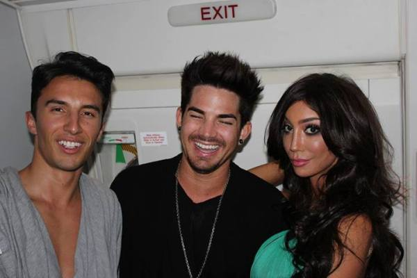 Alek Sandar: Vienna Life Ball 2013. In the Private Jet with Adam Lambert and Yasmine Petty