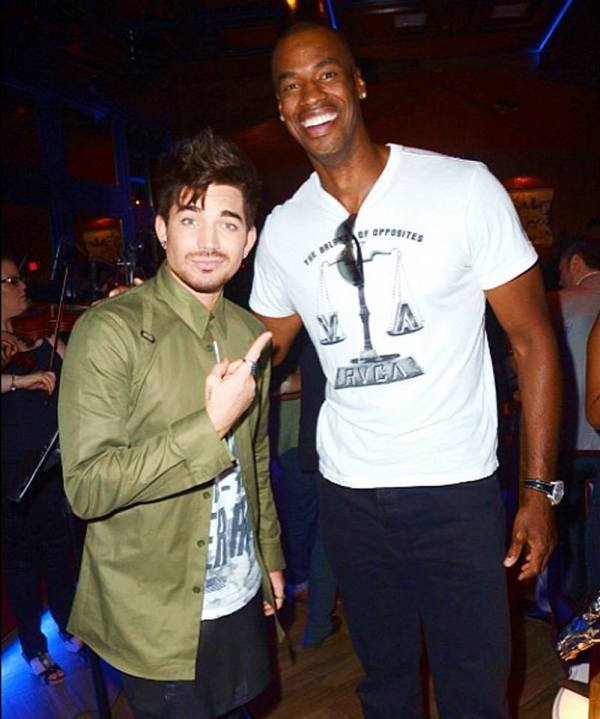 @jasoncollins34: I so wanted to challenge @adamlambert to a singing competition. But it's probably for the best that didn't happen.